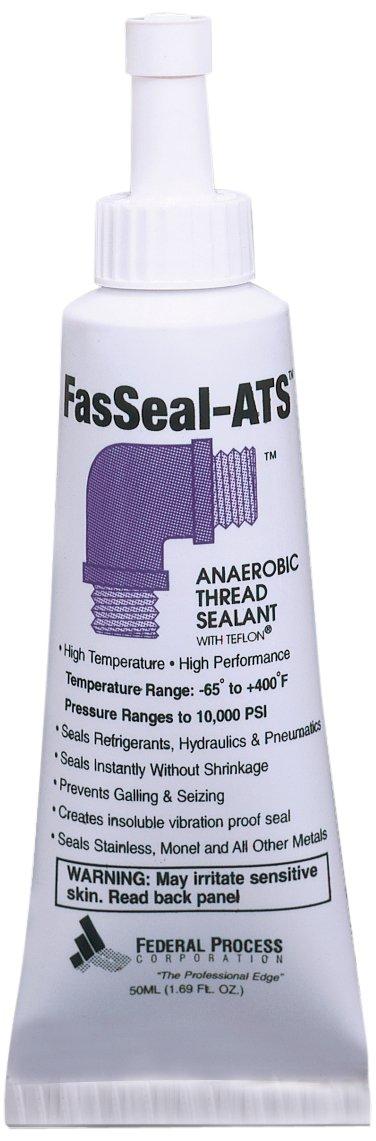 Gasoila FasSeal ATS Anaerobic Thread Sealant with PTFE 60 to 375 Degree F 50 ml Tube