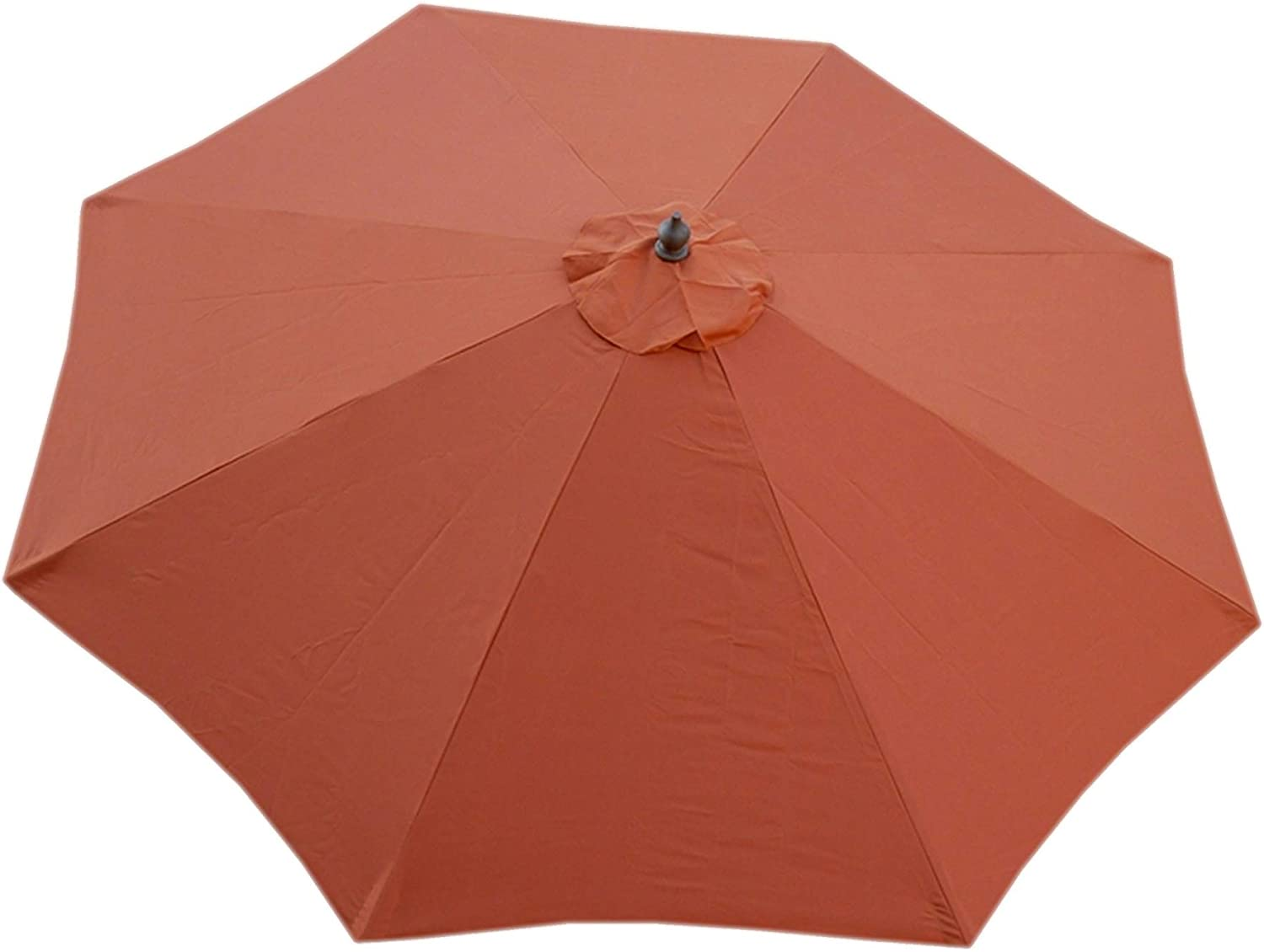 Formosa Covers Replacement Umbrella Canopy for 9ft 8 Ribs Terra Cotta (Canopy Only)
