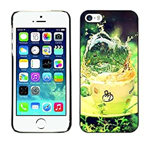 "For Apple iPhone 5 / 5S , S-type Naturaleza Hermosa Forrest Verde 21"" - Arte & diseño plástico duro Fundas Cover Cubre Hard Case Cover"
