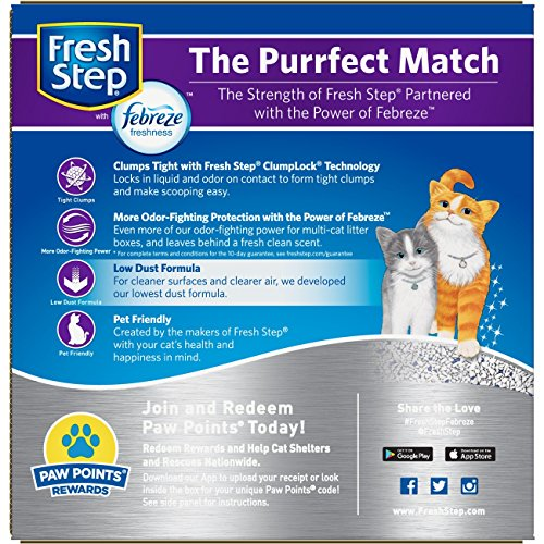 Multi Cat Scented Litter With The Power Of Febreze Amazon