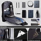 Sling Laptop Bag,Slim Anti Theft Single Shoulder