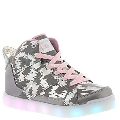 f3bc61c36ce1 Skechers Energy Lights E-Pro Reflecti-Fab Girls  Toddler-Youth Sneaker 1