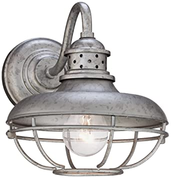Franklin Park Cage Collection 9u0026quot; High Outdoor Wall Light  sc 1 st  Amazon.com & Franklin Park Cage Collection 9