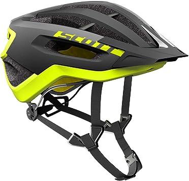 Scott Fuga Plus XC/ /Casco para Bicicleta de monta/ña Negro//Amarillo 2018