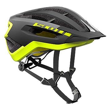 Scott Fuga Plus XC – Casco para Bicicleta de montaña Negro/Amarillo 2018