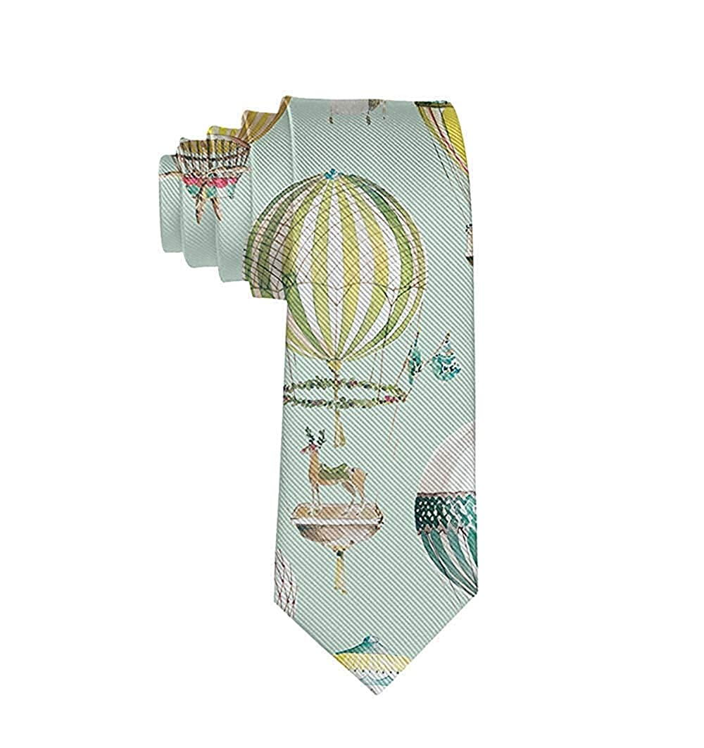 GZOSWLGS Corbata con globo para hombre Corbata Corbata de seda ...