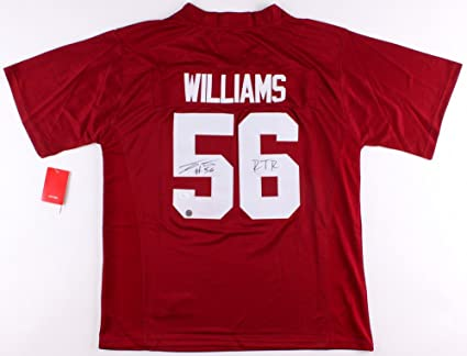 best website 1ac2e 09533 Tim Williams Autographed Signed Alabama Crimson Tide Nike ...