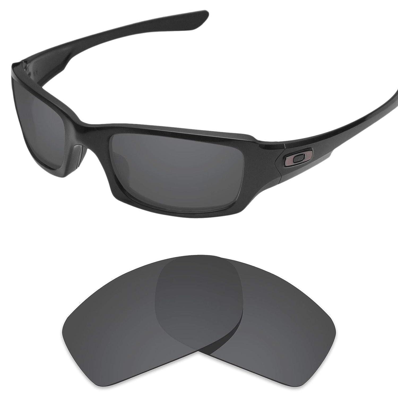 sunglasses restorer Lentes de Recambio Polarizadas Grises para Oakley Fives Squared 3.0