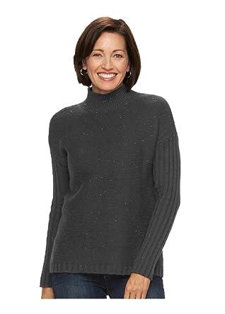 051616dfe21cdc Croft   Barrow Women s Nep Mockneck Sweater (Small