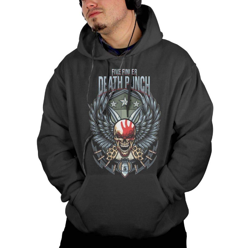 RobertJ.Rivera Man's Five Finger Death Punch Autumn Comfortable Sports Hoodie Pocket
