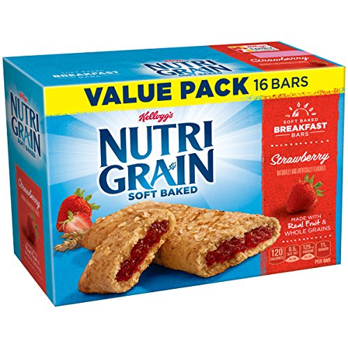 Treat Snack Bar (Kellogg's Nutri-Grain Bars, Strawberry, 16 count)