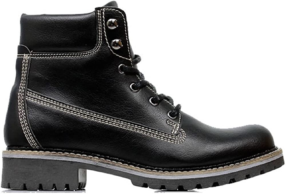 Will s Vegan Shoes Mens Dock Boots Black