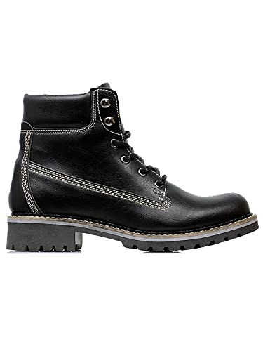 4e78cd5862 Will s Vegan Shoes Women s Dock Boots Black  Amazon.co.uk  Shoes   Bags