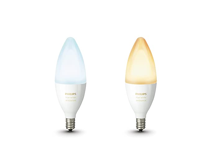 Philips Hue Lampen E14.Philips Hue White Ambiance Personal Wireless Lighting 6 W E14 Led