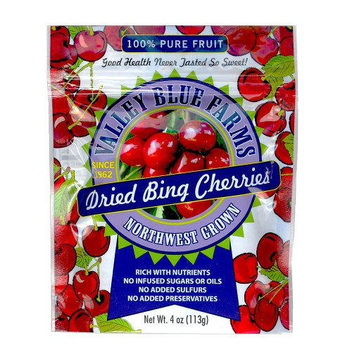 Valley Blue Farms Dried Bing Cherries (Cherry Dry Fruit)