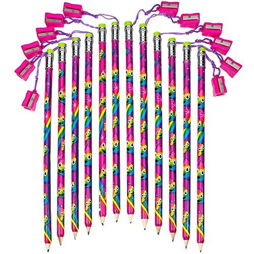 Unicorn Sharpener Assorted Colorful Pencils product image