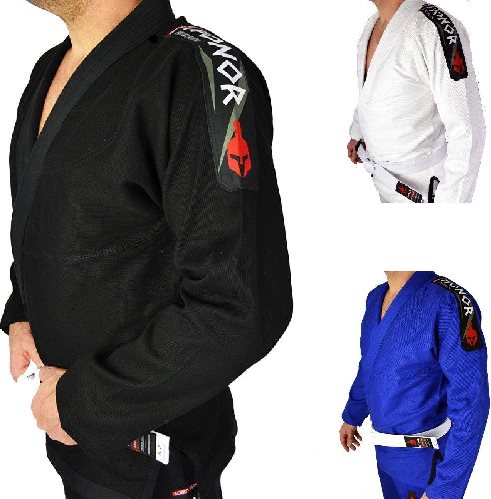 se Incluye cintur/ón Blanco. brasile/ño Kimono Honor JJB BJJ Gi Jiu Jitsu