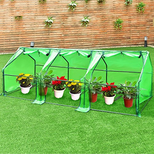 Imtinanz Modern Portable Flower Garden Greenhouse