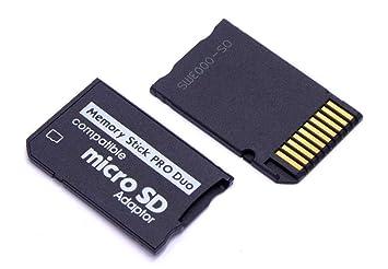handywest - Adaptador Micro SD a Memory Stick Pro Duo para ...