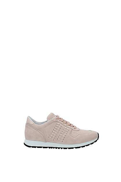 27fd6bf04e Tod's Sneakers Women Suede Light Pink XXW0YO0P670CKOM400 Pink 5.5UK ...