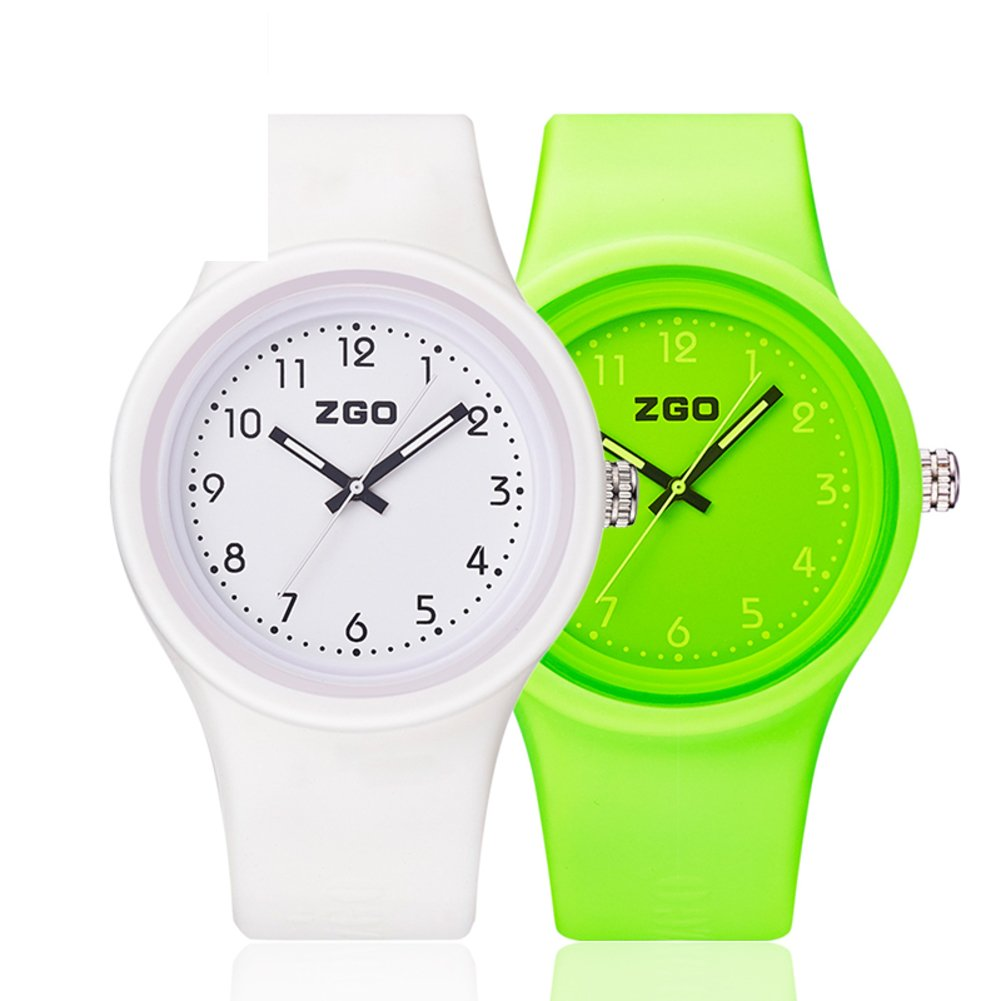Luminous waterproof watch/Korean version of the simple matching watches-M