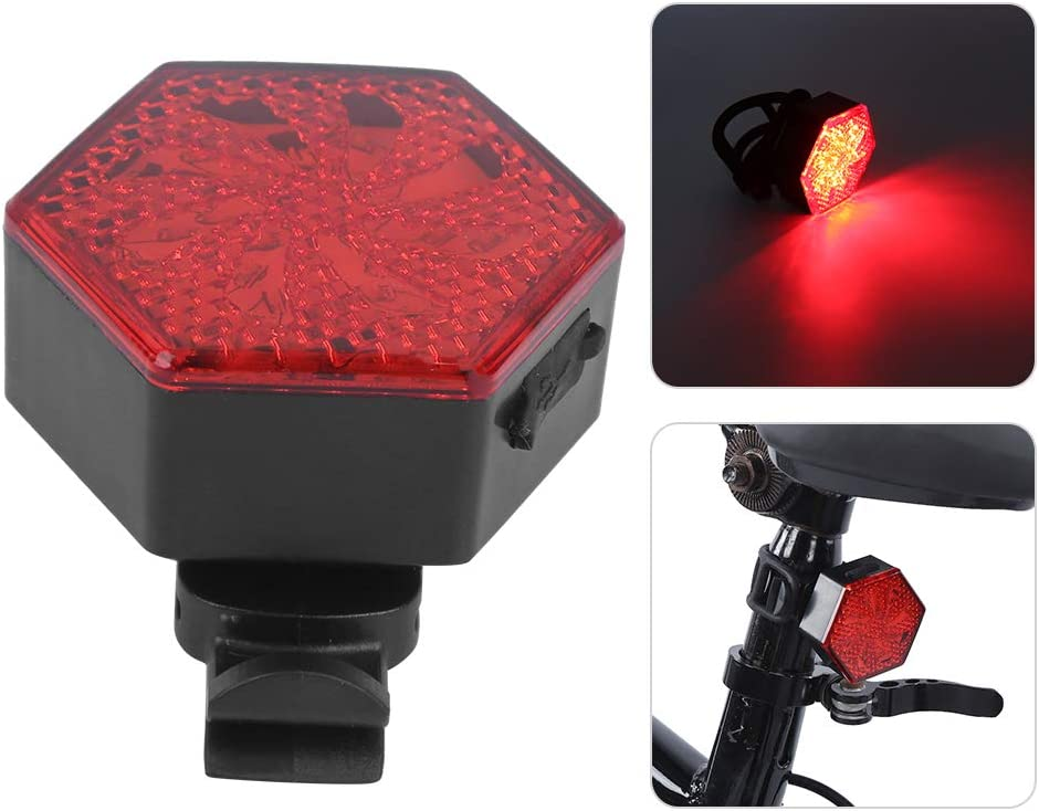 USB Charging Multifunctional Extension Buckle Clip Bicycle Taillight Cycling Rear Light for Bike Sharing Travel Night Running Cycling Accessory Walking Work