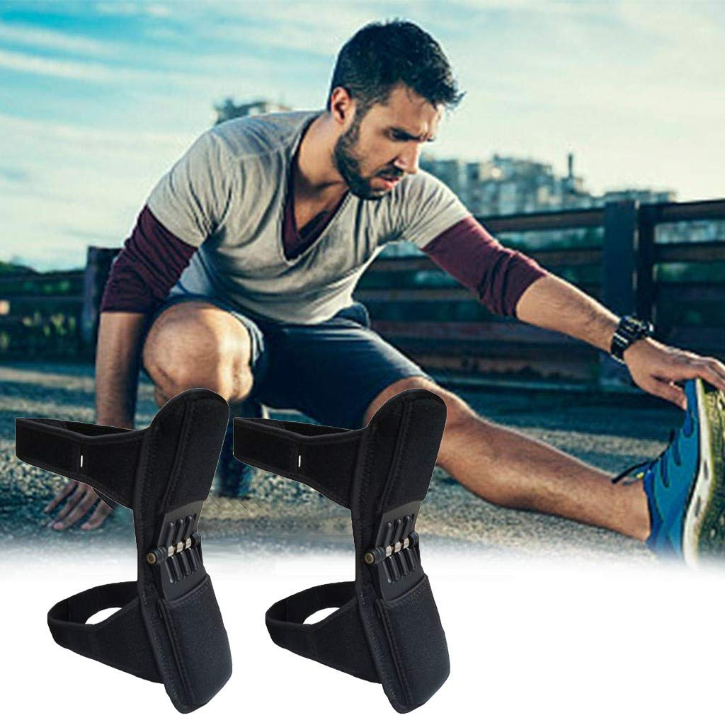 NszzJixo9 knee Protection Booster - PowerLift Joint Support Knee Pads Powerful Rebound Spring Force, Pads Powerful Rebound Spring Force by NszzJixo9 (Image #2)
