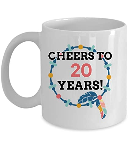 Amazon 20 Birthday Mug