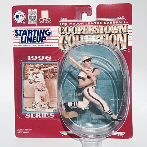 Starting Lineup - 1995 - MLB - Copperstown Collection - Mel Ott Action Figure - 1996 Series - Out of Production - Limited Edition - - Giants Rodriguez Alex