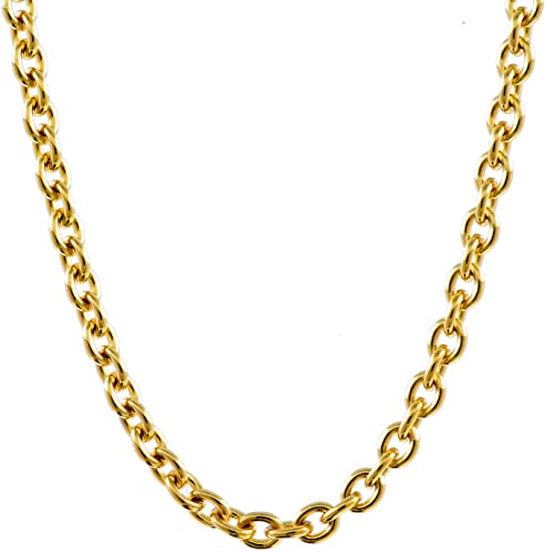 Ankerkette 585 Gelbgold 14 Karat 45cm 0,8mm Echt Gold Kette Halskette Neu