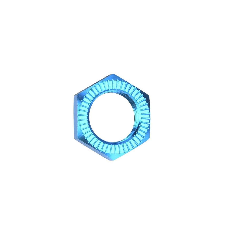 4 pi/èces /écrous de roue cl/é 17 MM /écrous de roue en alliage daluminium augmentent la capacit/é de prise pour accessoire de voiture 1//8 RC blue