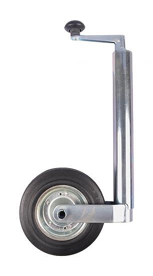 Buri Rueda para remolque 48 x 250 mm Rueda jockey colgador colgante Trailer Caravana Neumáticos de Goma.: Amazon.es: Jardín