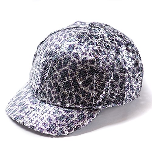 free-spirit-sequin-cheetah-leopard-baseball-cap-hat-for-women-girls-lightweight-versatile-for-all-se
