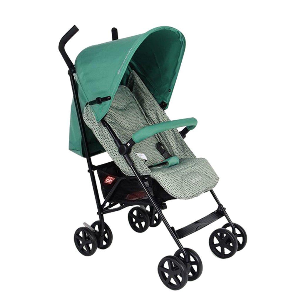 HAIZHEN マウンテンバイク ベビーカートは座ることができます/四季を縛る軽量の傘車赤ちゃんフォールドダンピングトロリーもっと調節可能な320mmの広げられた席ベビーキャリッジ51 * 79 * 105cm 新生児 B07DMNYBL1 2 2