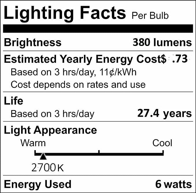 New Kichler MR16 LED Landscape Light 60 Wide Flood 18018 6W 2700K 12V 1 Pack