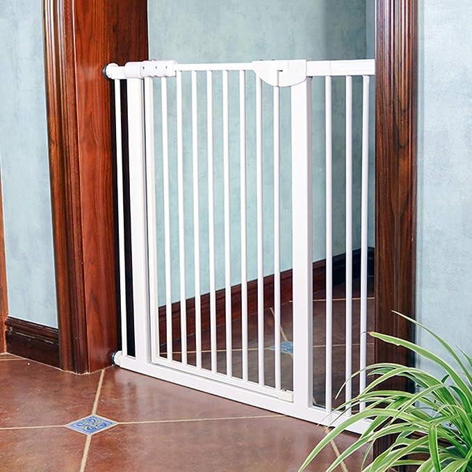 barrera seguridad Puerta de mascotas extra alta para perros, gatos, barrera para bebés, puertas, pasillos, puertas de seguridad para interiores, ...