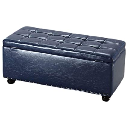 Surprising Amazon Com Footstools Luxury Ottoman Storage Chest Home Ncnpc Chair Design For Home Ncnpcorg