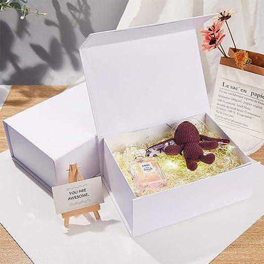 Birkmann boite cadeau BONHEUR Boîte geschenkdose Fer Blanc Granita 12x10x6cm