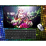 Japanese Anime No Game No Life charactors Large Mouse Pad 60cmx35cm Desk Pad Table Play Mat (05)
