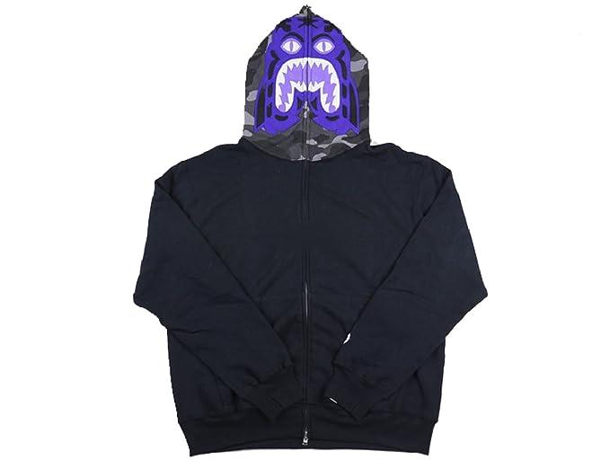c63494f9340a Super rare Aoyama limited Bape Purple Tiger Hoodie (Small, Black ...