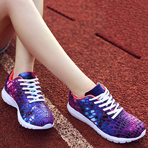 Purple Breathable Men WYSBAOSHU Casual Lightweight Shoes Running Sneakers Women Shoes Sport SwaFwqOv0