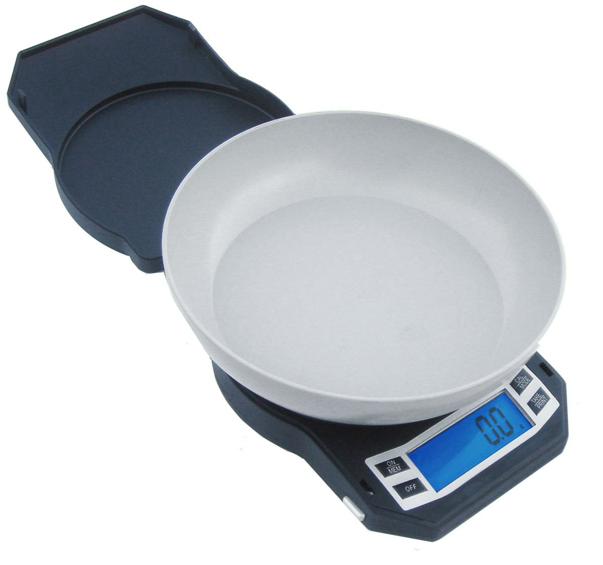 American Weigh Scales LB Series Digital Precision Weight Scale with Removable Bowl, 3000 x 0.1 G (LB-3000) by AMERICAN WEIGH SCALES
