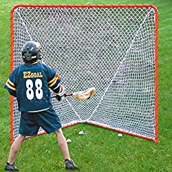 Ezgoal Lacrosse Folding Goal, 6 X 6-feet, Orange