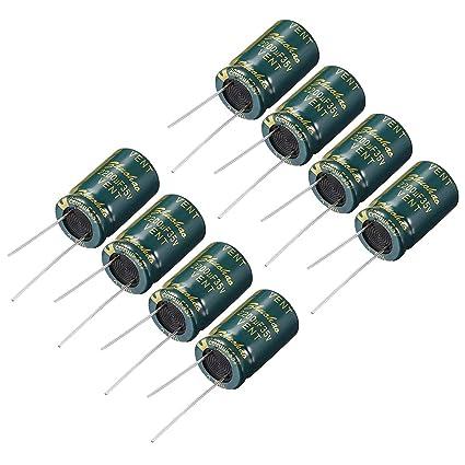 2200uF 35V 105C Radial Electrolytic Capacitor 16*25mm