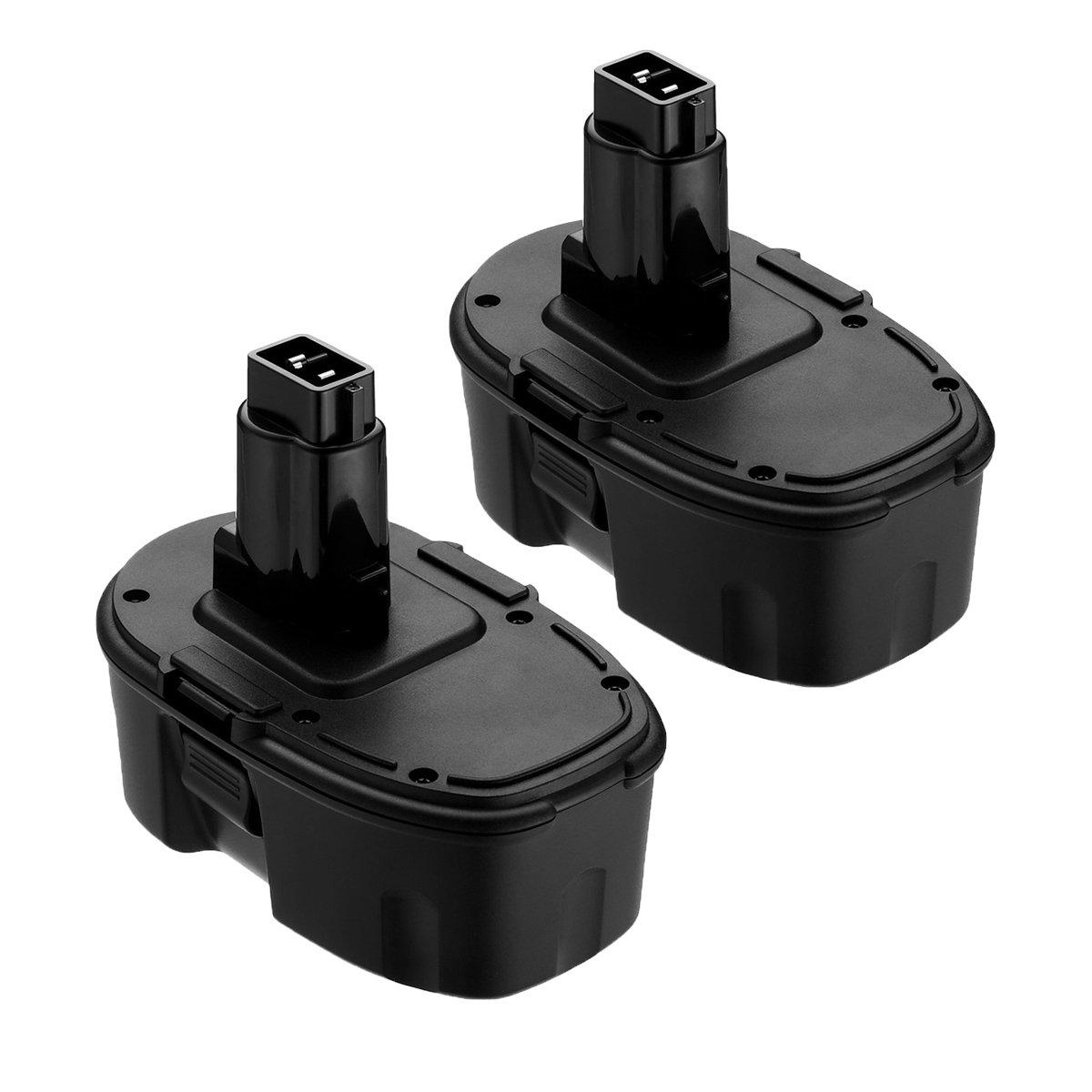 Replace for Dewalt 18V XRP Battery DC9096 DC9099 DC9098 DW9099 DW9098 Compatible Replacement Cordless Power Tools Batteries(2-Packs)