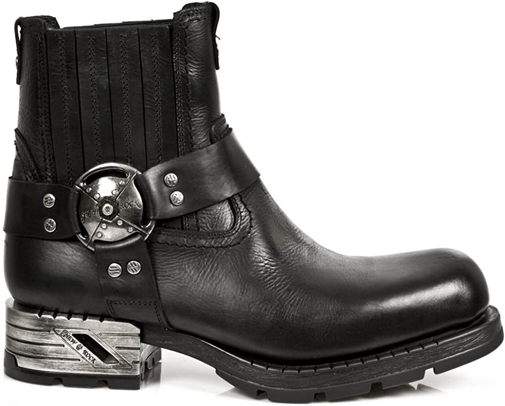 New Rock M.mr007-s1, Botas Clasicas para Hombre
