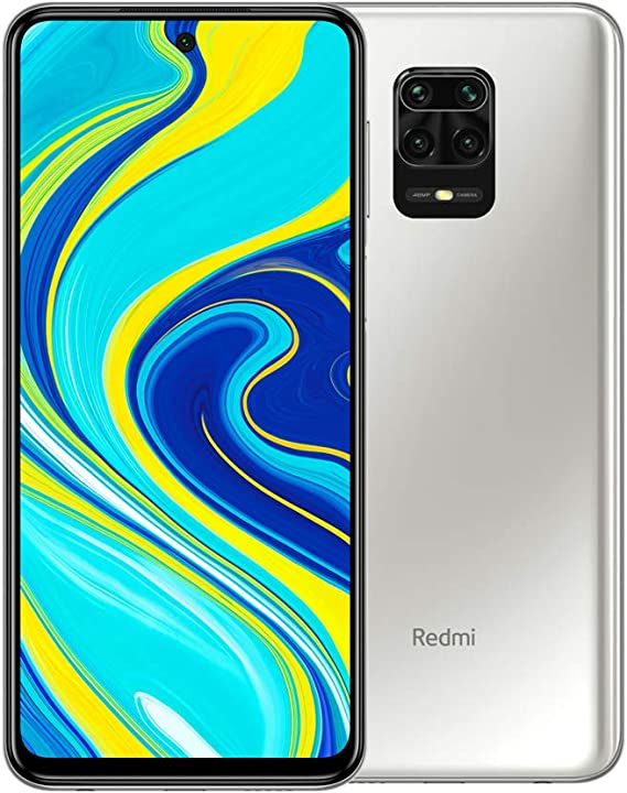 Smartphone XIAOMI REDMI Note 9S 4/64GB Glacier White: Amazon.es ...