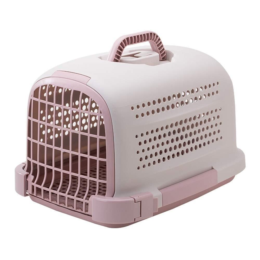 Eroscat ペットハードカバーキャットキャリア - 猫、小型犬の子犬&ウサギのための機能を備えたペットトラベルケネル (Color : A) A