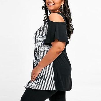 Camiseta Mujer Tallas Grandes ❤️Xinantime Camisetas Mujer ...