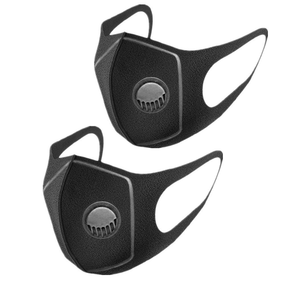 Reusable Washable Respirator Masks Black Anti-dust Face Mouth Mask